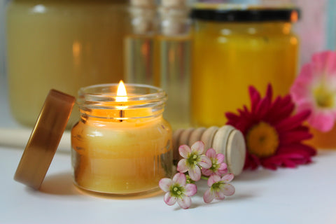 100% Natural & Pure Beeswax Candles