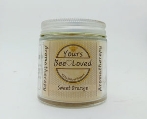Yours Bee Loved - Aromatherepy | Sweet Orange Essential Oil Candle | 100% Natural Candle - YoursBeeLoved