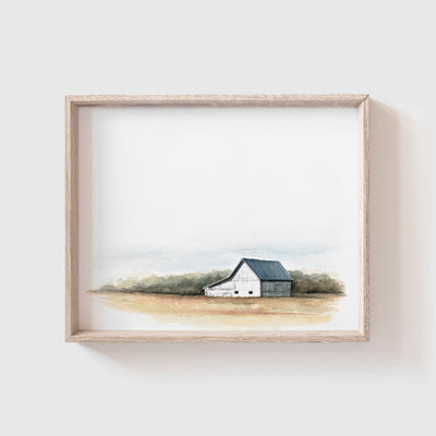 Barn No. 1 Art Print