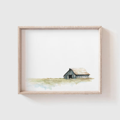 Barn No. 2 Art Print