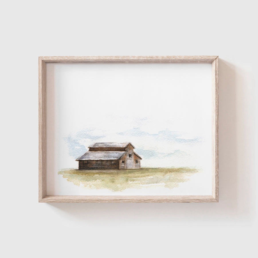 Barn No. 3 Art Print
