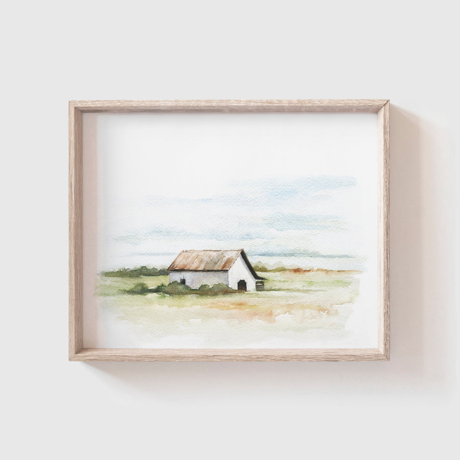 Barn No. 4 Art Print