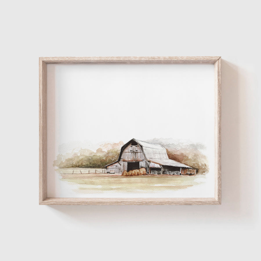 Barn No. 5 Art Print