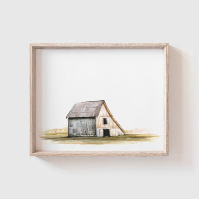 Barn No. 6 Art Print