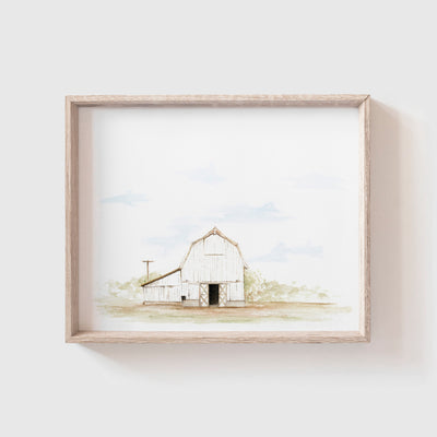 Barn No. 7 Art Print