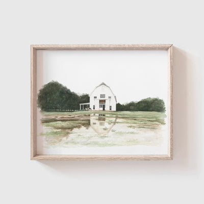 Barn No. 8 Art Print