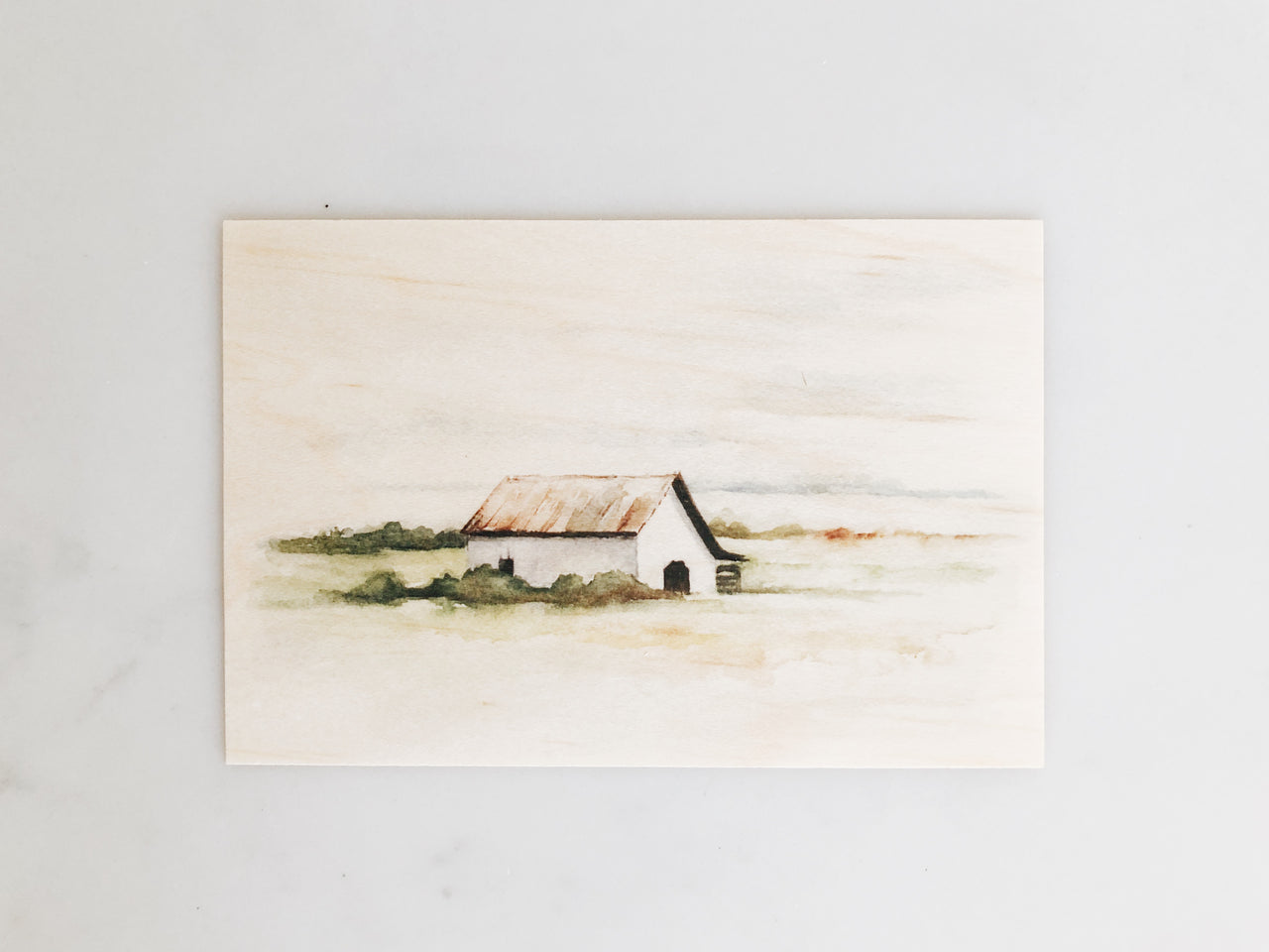 Wooden Postcards: Four Seasons Barn Set
