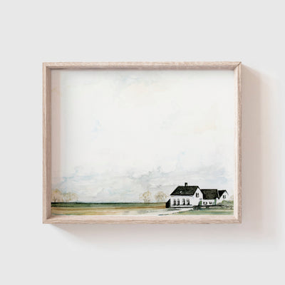 Farmhouse No. 1 Art Print