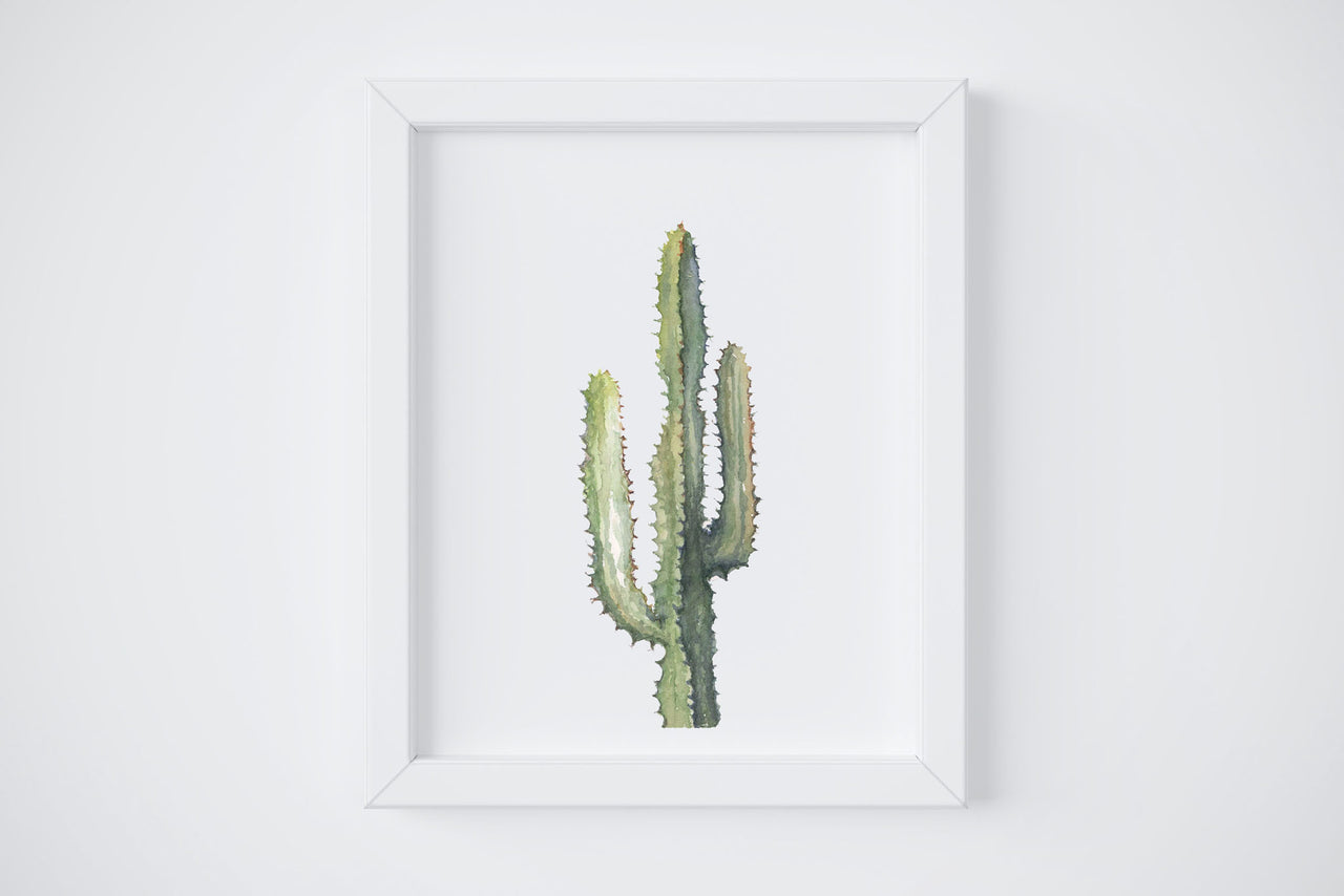 Spikey Cactus No. 1 Art Print