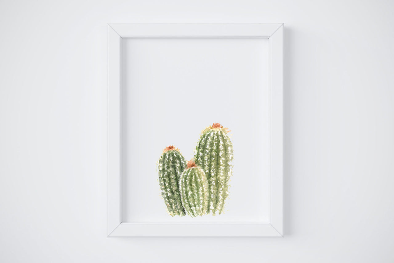 Spikey Cactus No. 5 Art Print