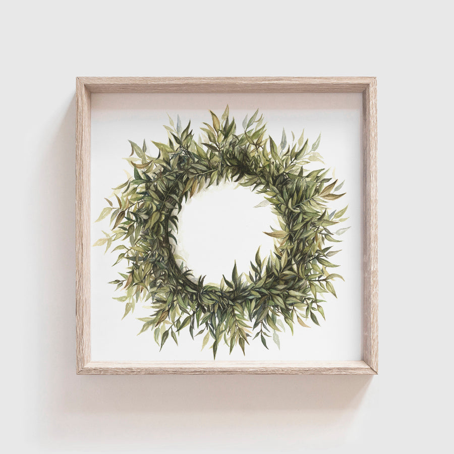 Wreath No 1 Art Print