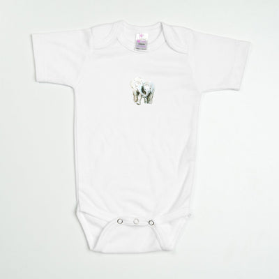 Elephants No. 1 Baby Bodysuit