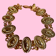 Load image into Gallery viewer, Guadalupe charm link bracelet