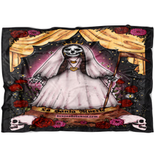 Load image into Gallery viewer, Santa Muerte Fleece throw