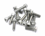 DRC Stainless Nuts and Bolts D58-35-XXX - available as flange or cap bolts
