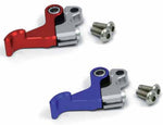 The Zeta Pivot Lever Perch Set has an optional hot start lever which is available in blue or red