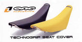 OI-STG-SU100-YL Yellow Technogrip seat cover for 96-00 RM125 and RM250