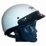 THH T70 half shell gloss white helmet is ideal for ATV riders