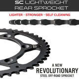 SC Lightweight Rear Sprockets