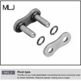 SAMPLE PICTURE - EK's MLJ connecting link (rivet type connecting link)