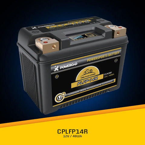 PLFP-14R Lithium ION 280CCA 8-16Ah Battery