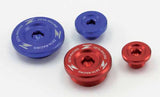 Zeta Engine Plugs are available in red, blue or orange, depending on application. DF-ZE89-1xxx
