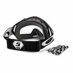 OA-01-774  Oakley Number Plate Strap Wrap (does not come with goggles or strap) comes with a range of numbers and variations of black/white to customise your goggles