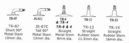 Tube Valve Stems