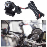 BA-MOTO2USB - Dual USB port for tubular handlebar