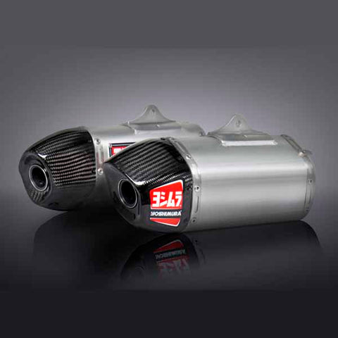 YM-228420H320 - Yoshimura RS-9 Stainless and Aluminium Dual Full System for a Honda 2014-2017 CRF250R