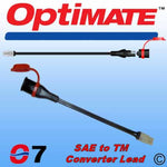 TM-O07 - Converter lead to connect your OptiMate with SAE-compatible connector to TM-accessories (as found on AccuMate and pre 2012 OptiMate models)