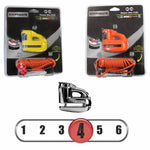 Kryptonite Keeper 5-S2 Disc Lock in Black Chrome, Matte Yellow and Matte Orange, all come with a reminder cord