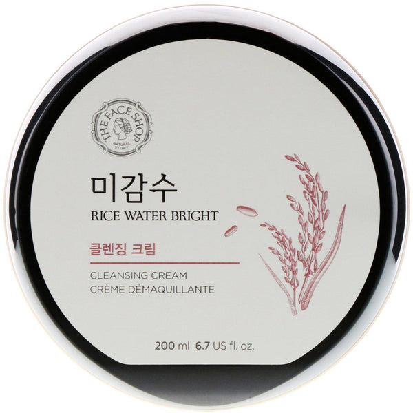 Rice Water Bright Cleansing Cream-Simple-The Face Shop-Chicsta