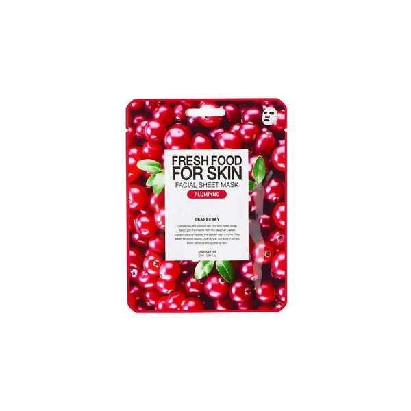 FARMSKIN Purifying Cranberry Facial Sheet Mask