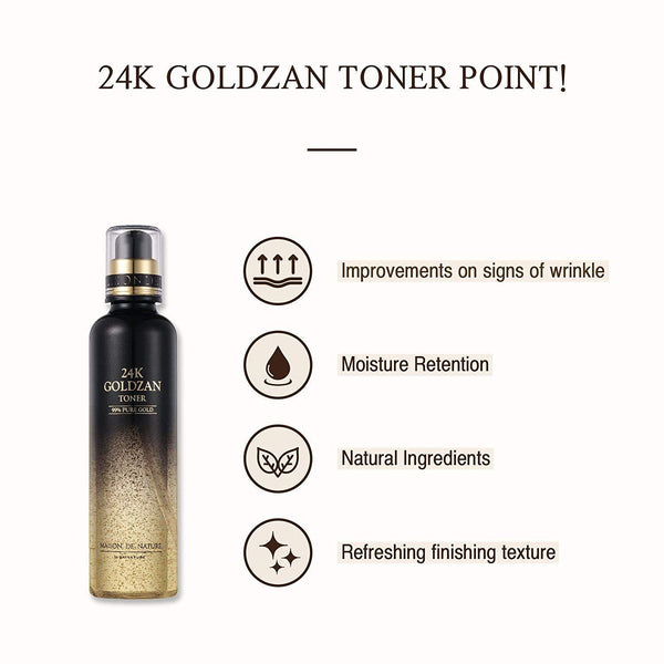 24K GOLDZAN Toner-SKINATURE-Chicsta