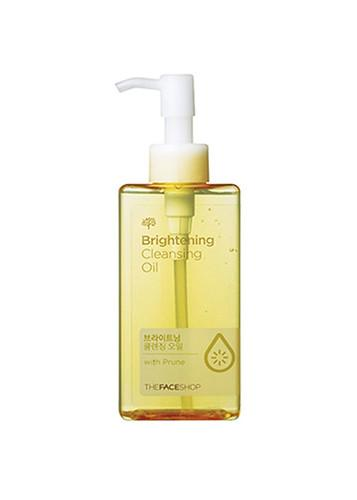 Brightening Cleansing Oil With Prune