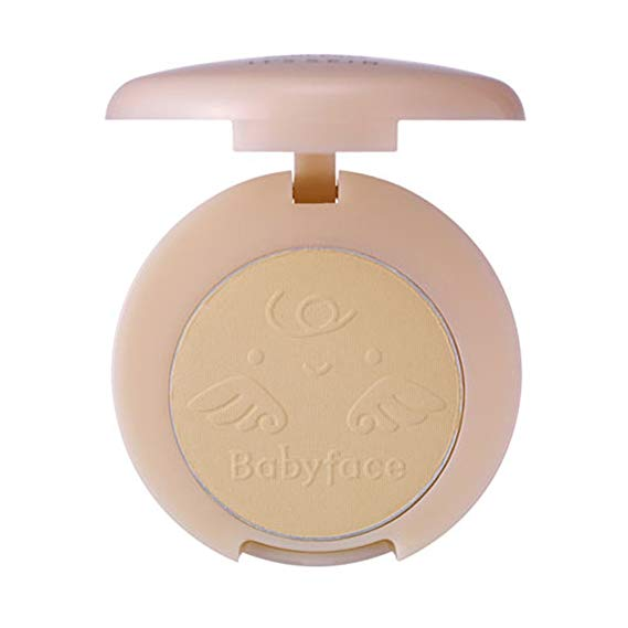 Babyface Petit Pact SPF25 PA++ - Natural beige #23-Simple-Its Skin-Chicsta