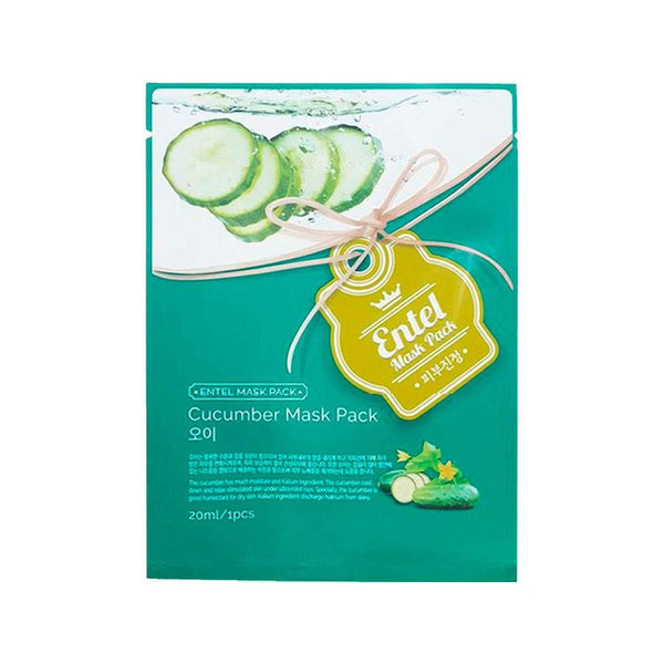 Cucumber Mask Pack-Simple-Entel-Chicsta