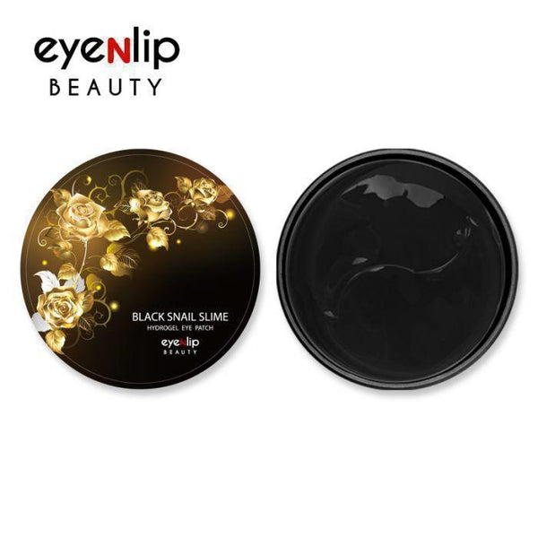 Eyenlip Black Snail Slime Hydrogel Eye Patch