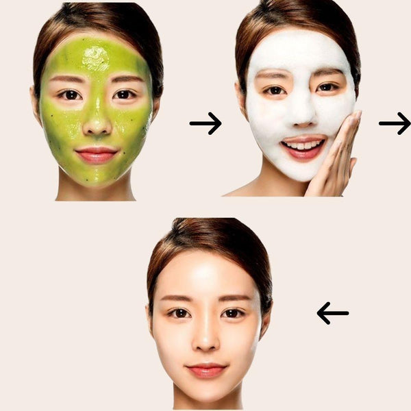 Bye Bye Blackhead 30 Days Miracle Green Tea Tox Bubble Cleanser-Simple-Some By Mi-Chicsta