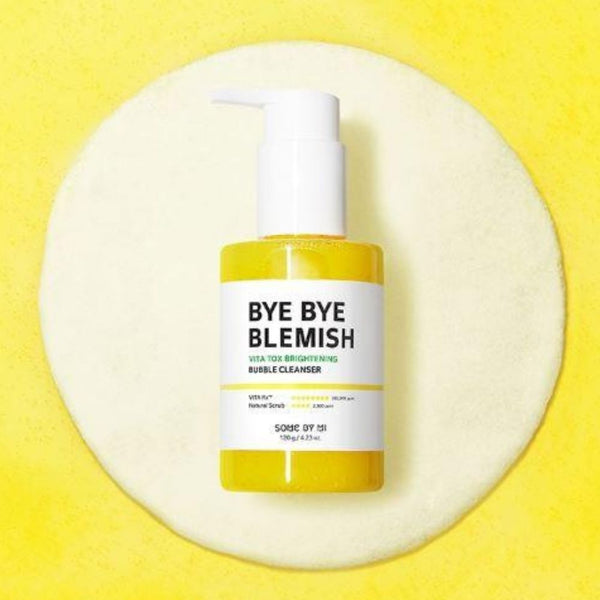 Bye Bye Blemish Vita Tox Brightening Bubble Cleanser-Simple-Some By Mi-Chicsta