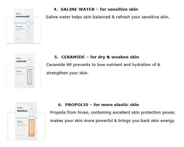 Mascure Calming Solution Sheet Mask