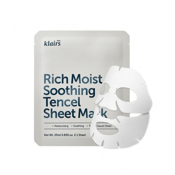 Rich Moist Soothing Tencel Sheet Mask #1 Pc