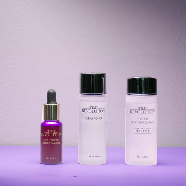 Time Revolution Best Seller Trial Kit (Trial Kit Of Deluxe Miniatures)-Simple-Missha-Chicsta