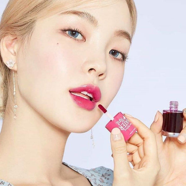 Dear Darling Water Tint Strawberry ade (Longwear Lip Color)-Simple-ETUDE HOUSE-Chicsta
