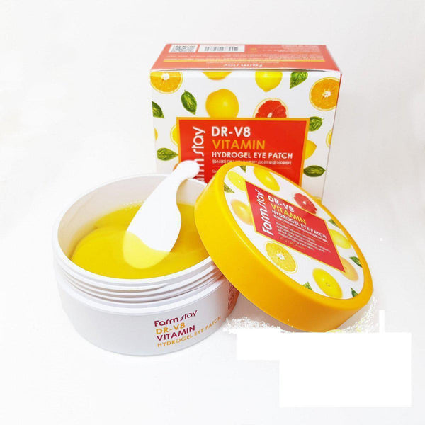 Farm Stay Dr-V8 Vitamin Hydrogel Eye Patch