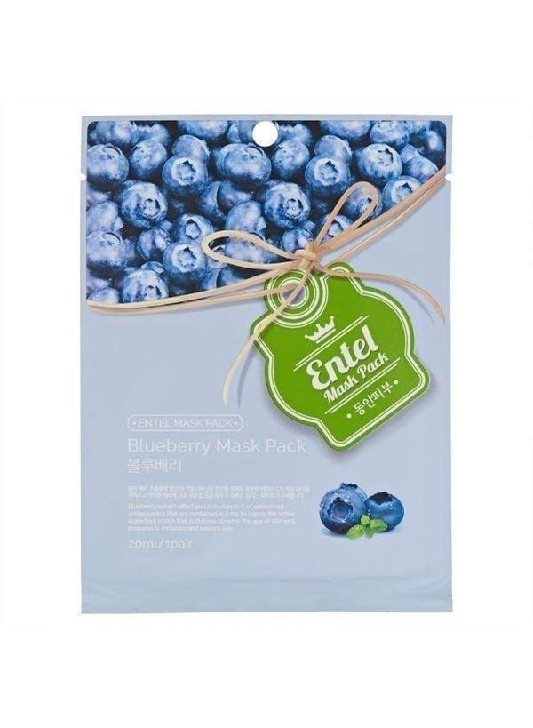 Entel Blueberry Mask Pack