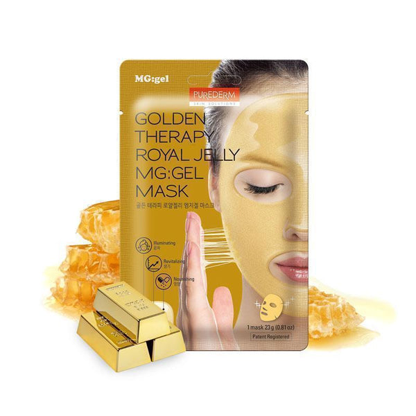Purederm Golden Therapy Royal Jelly Mg:Gel Mask