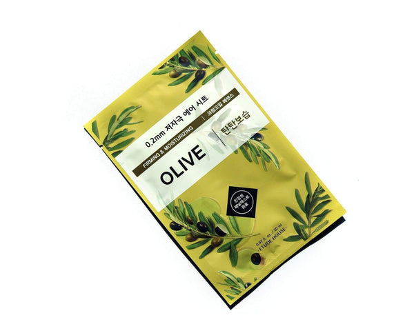 0.2 Therapy Air Mask 20ml #Olive Firming and Moisturizing-Simple-Etude House-Chicsta