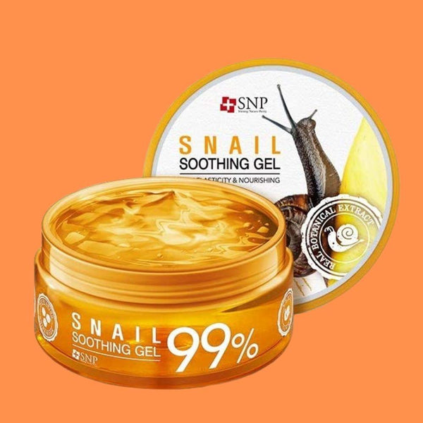 Snail Soothing Gel For Skin Elasticity & Nourishing-Simple-SNP-Chicsta